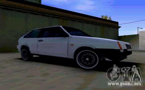 VAZ 2108 V2 para GTA San Andreas left