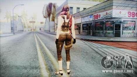 Mila from Counter Strike v2 para GTA San Andreas tercera pantalla