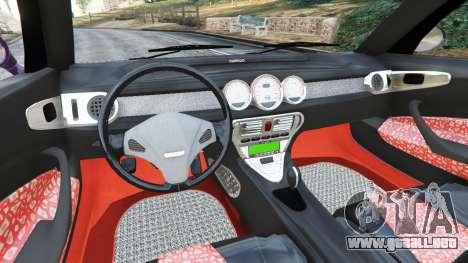 GTA 5 Daewoo Joyster Concept 1997 vista lateral trasera derecha
