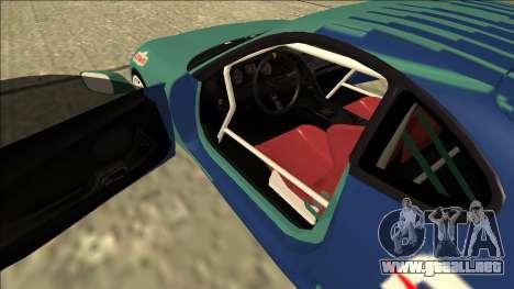 Toyota Supra Falken Drift para visión interna GTA San Andreas