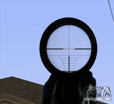 Sniper Scope v2 para GTA San Andreas séptima pantalla