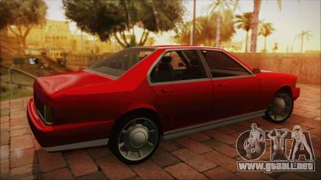 Sentinel PFR HD v1.0 para GTA San Andreas left
