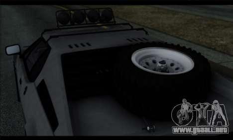 BMW M1 E26 Rusty Rebel para vista lateral GTA San Andreas