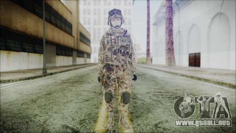 CODE5 Germany para GTA San Andreas segunda pantalla