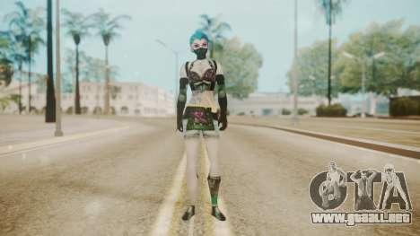 Jinxed Akali para GTA San Andreas segunda pantalla
