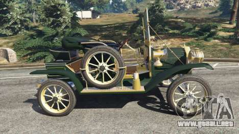 GTA 5 Ford Model T [one color] vista lateral izquierda
