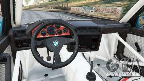 GTA 5 BMW M3 (E30) 1991 [Jeschke] v1.2 vista lateral derecha