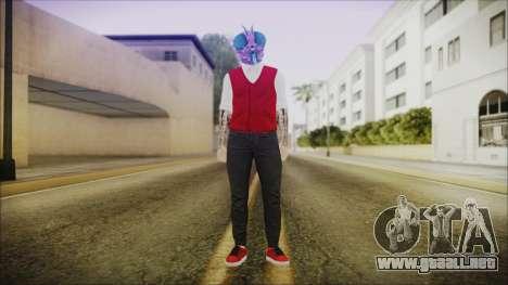 DLC Halloween GTA 5 Skin 2 para GTA San Andreas segunda pantalla