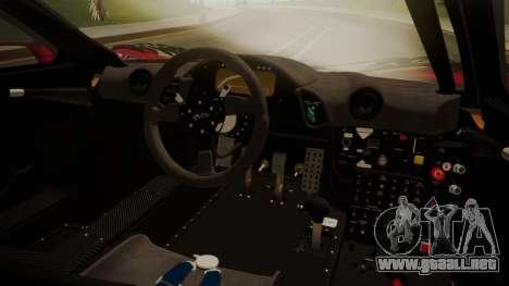 McLaren F1 GTR 1998 Team Lark para la visión correcta GTA San Andreas