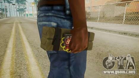 GTA 5 Satchel para GTA San Andreas tercera pantalla