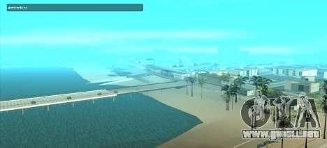 SampGUI Violet para GTA San Andreas segunda pantalla