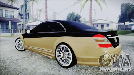 Carlsson Aigner CK65 RS v1 para GTA San Andreas left