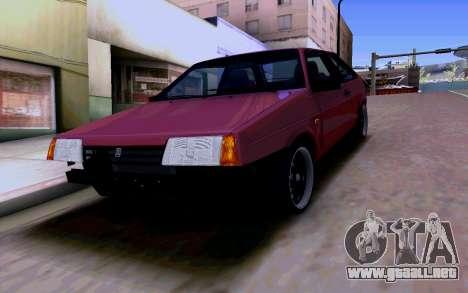 VAZ 2108 V2 para vista inferior GTA San Andreas