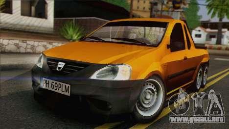 Dacia Logan Pickup 6x6 para GTA San Andreas