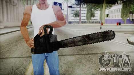 Helloween Chainsaw para GTA San Andreas