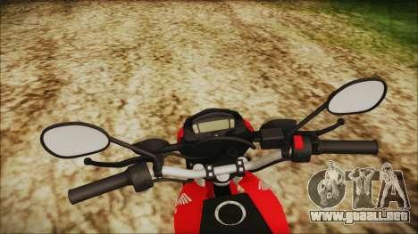 Honda Bros 160 2015 para la visión correcta GTA San Andreas