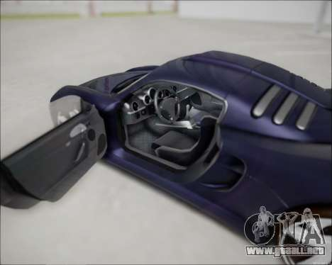 Ruf CTR 3 2015 para la visión correcta GTA San Andreas