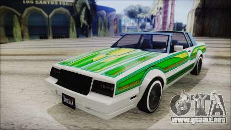 GTA 5 Willard Faction Custom IVF para visión interna GTA San Andreas