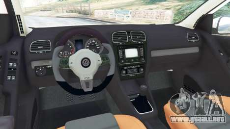 Volkswagen Golf Mk6 v2.0 [ABT] para GTA 5