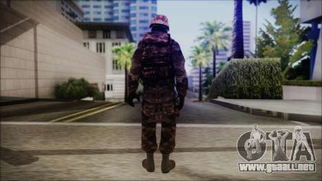 Chinese Army Desert Camo 1 para GTA San Andreas tercera pantalla