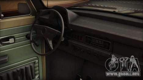 Volkswagen Beetle 1973 para la visión correcta GTA San Andreas
