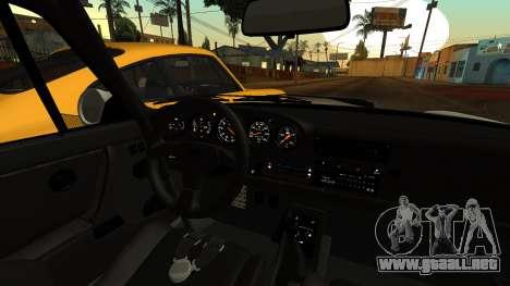 RUF CTR Yellowbird (911) 1987 HQLM para la visión correcta GTA San Andreas