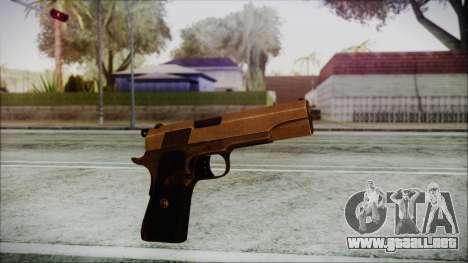 Original Colt 45 HD para GTA San Andreas segunda pantalla