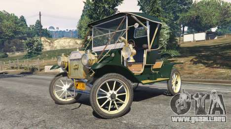 GTA 5 Ford Model T [one color] vista lateral derecha