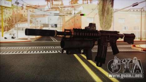 M4 SpecOps para GTA San Andreas