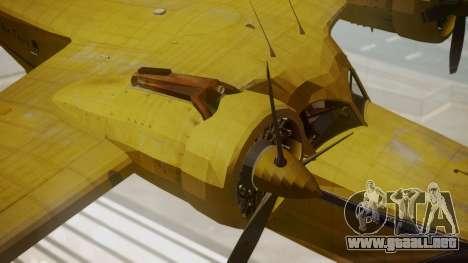 Grumman G-21 Goose VHLXD para la visión correcta GTA San Andreas