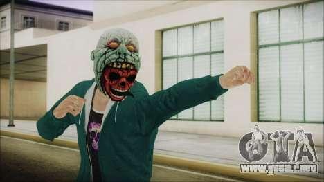 DLC Halloween GTA 5 ZombieCraneo para GTA San Andreas