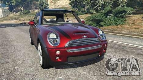 Mini Cooper S Convertible v0.2 para GTA 5
