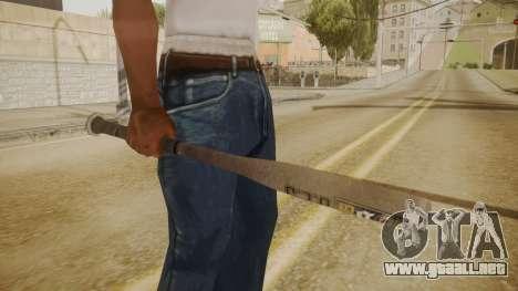 GTA 5 Bat para GTA San Andreas tercera pantalla