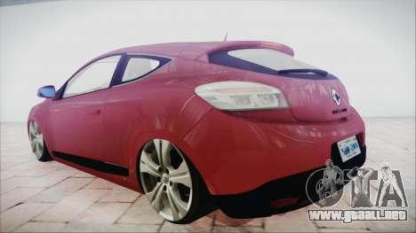 Renault Megane 3 para GTA San Andreas left