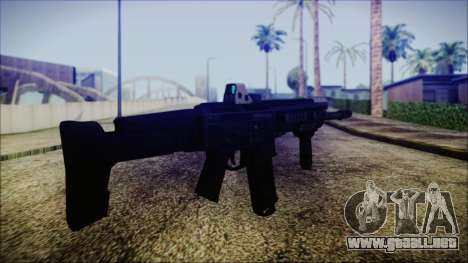 Bushmaster ACR para GTA San Andreas segunda pantalla