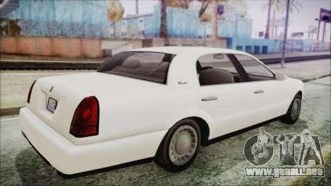 GTA 5 Albany Washington IVF para GTA San Andreas left