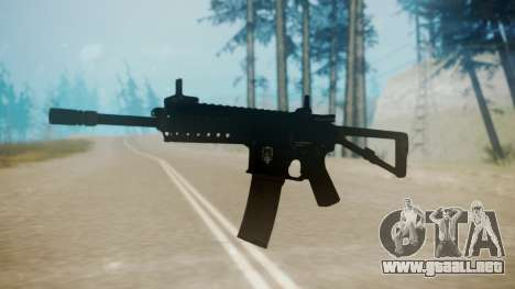 KAC PDW para GTA San Andreas segunda pantalla