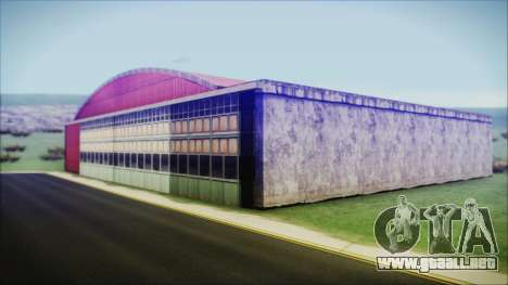 HD Desert Hangar Mipmapped para GTA San Andreas segunda pantalla