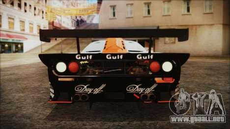 McLaren F1 GTR 1998 para visión interna GTA San Andreas