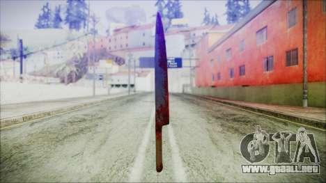 Helloween Butcher Knife para GTA San Andreas tercera pantalla