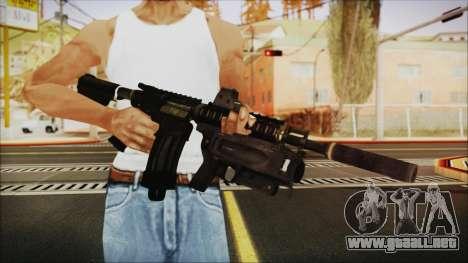 M4 SpecOps para GTA San Andreas tercera pantalla