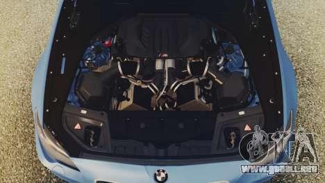 BMW M5 F10 Stock MTA Version para la visión correcta GTA San Andreas