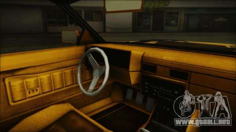 GTA 5 Willard Faction Custom Bobble Version IVF para la visión correcta GTA San Andreas