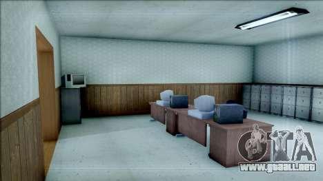 New Interior for SFPD para GTA San Andreas tercera pantalla