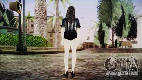 Home Girl Chola 1 para GTA San Andreas tercera pantalla