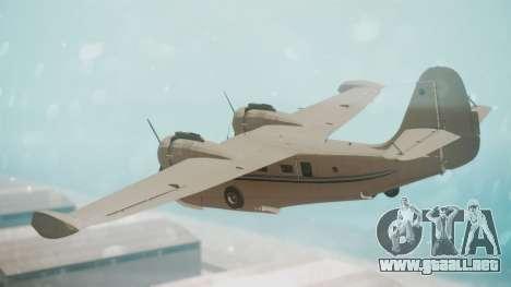 Grumman G-21 Goose WhiteBlueLines para GTA San Andreas left