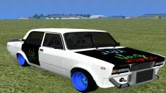 VAZ 2105 Bq Final para GTA San Andreas