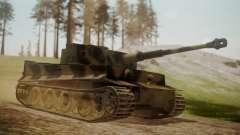 Panzerkampfwagen VI Tiger Ausf. H1 No Interior para GTA San Andreas
