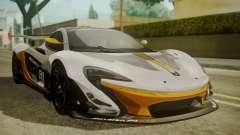 McLaren P1 GTR 2015 para GTA San Andreas