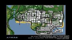 HD Radar Map para GTA San Andreas